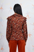 Ditsy floral print blouse  image