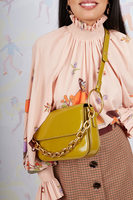 Shoulder Bag With Statement Chain  image