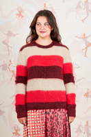 Wide Striped Sweater  image
