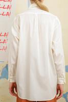 Ivory Oversized boyfriend shirt  image