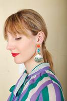 Shell dangle earrings  image