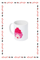 Olimpia zagnoli x Wait and See special edition Queen of milano mug  image
