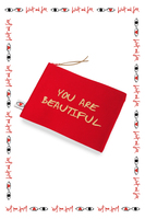 You are Beautiful Pouch image
