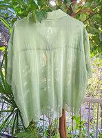 Short Sleeved Sheer Blouse image
