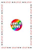 Love is Love Badge  image