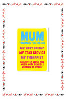'Mum Thanks for Being…' Mother's Day Card  image