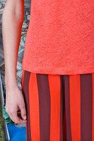 Coral linen t-shirt  image