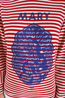 Mary Striped Jersey T-Shirt  image