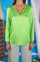 Silk Satin Long sleeved top  image