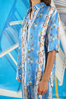 Floral and heart patterned shirt  image