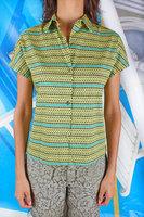 Dotted short sleeve shirt  image