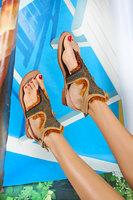 Embellished sandals  image