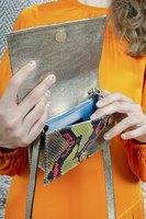 Snakeskin crossbody bag  image