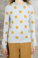 Polka dot sweater  image