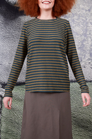 Forest and Oil striped t-shirt  image
