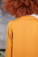 Mustard long sleeved shirt  image