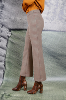 Patterned jacquard tailored pants  image