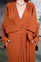 Belted Kimono Dress image