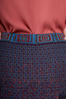 Knit skirt with pleats  image