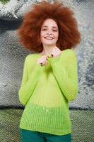 Fluorescent green sweater  image