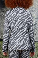 Zebra Tailored Blazer  image