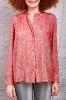 Coral Lurex Shirt  image