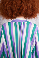 Striped Long Sleeve Dress image