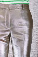 Metallic Tapered Pants image