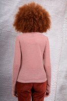 Long sleeved striped top  image