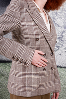 Prince of Wales Check Boyfriend Blazer  image