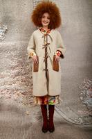 Reversable faux shearling coat  image
