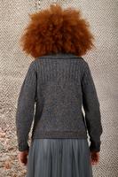 Shawl collar cardigan  image