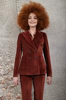 Brick Velvet tailored blazer image