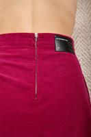 A line corduroy skirt  image
