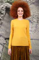 Sunflower yellow cashmere sweater  image