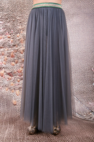 Long layered tulle skirt  image