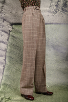 Prince of wales wide leg pants  image