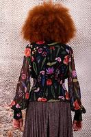 Floral print blouse image