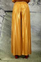 Fluid wide leg jacquard pants  image