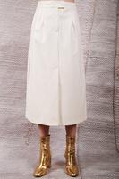 Ivory a-line skirt  image
