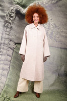 Oversized contrast coat  image