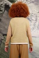 Diamond pattern sweater  image