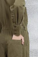 Puff sleeved jumpsuit  image