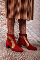 Brick Suede Ankle Boots  image