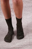 Calze Lurex marrone di media altezza image
