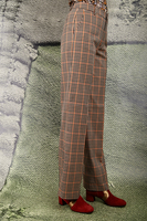 Tailored check pants image