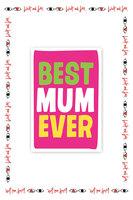 Best Mum Ever Card image