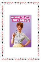 The Mum, The Myth, The Legend Card  image