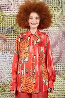 Shirt with tiger print  image