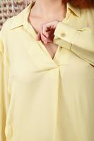 Blouse with shoulder fold detail  image